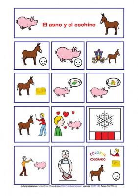 cuentos pictogramas