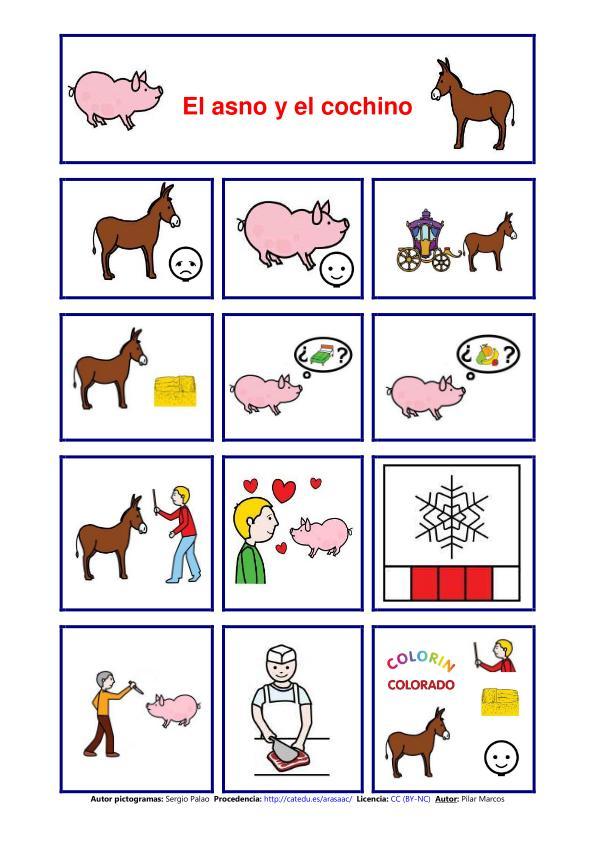 Cuentos con pictogramas - Orientación Andújar - Recursos Educativos