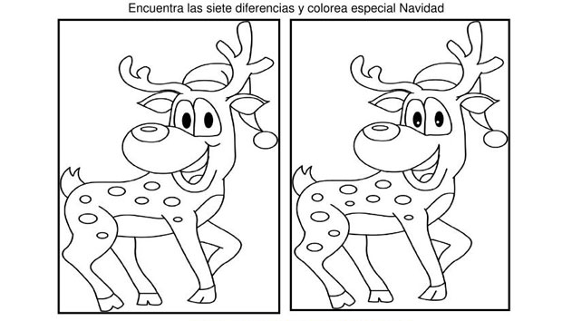 40 Fichas Atencin especial NAVIDAD Encuentra las diferencias y