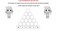 Presentamos unas nuevas actividades para trabajar las operaciónes básicas concretamente la suma, mediante nuestras pirámides secretas (en esta ocasión las pirámides son de 6 alturas) para trabajar la competencia matemática […]