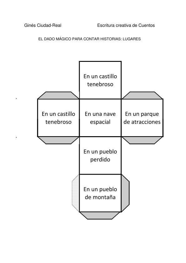 Colecci n de dados m gicos para crear cuentos incluye for Concepto de familia pdf