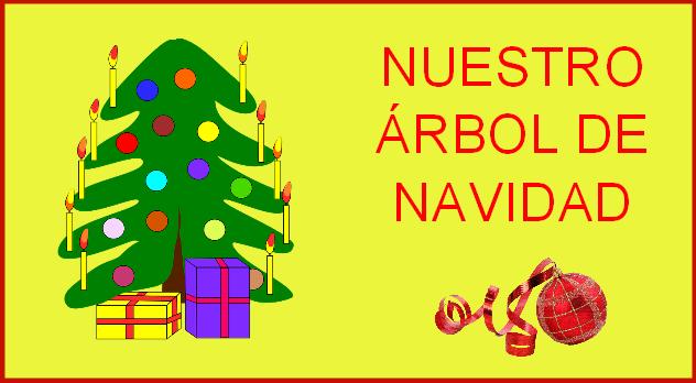 Nuestro rbol de navidad para infantil y primaria for Arbol navidad infantil