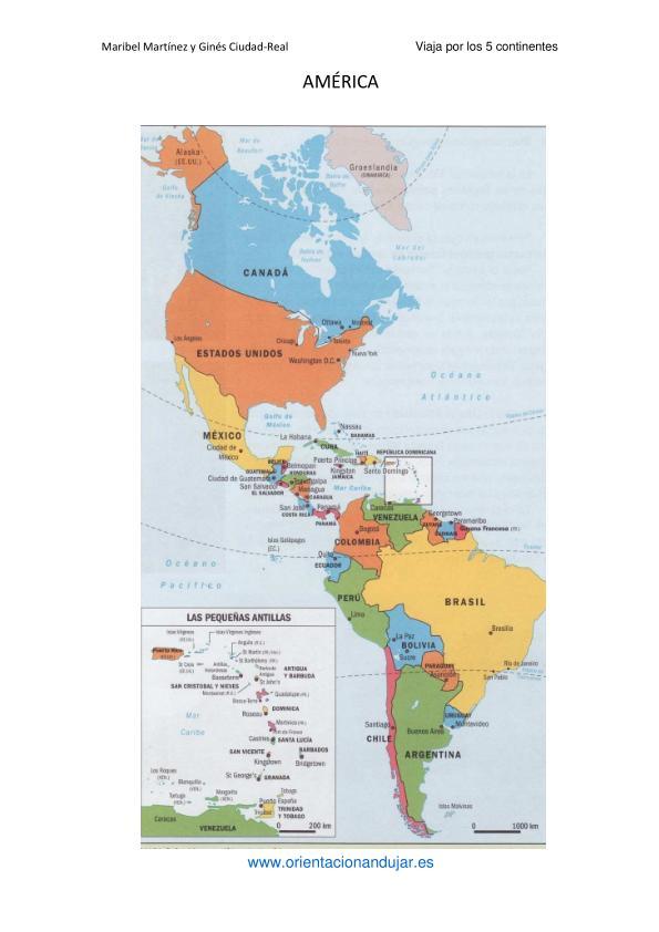 Gea educadores viaja por los cinco continentes los pa ses for America todo un inmenso jardin eso es america