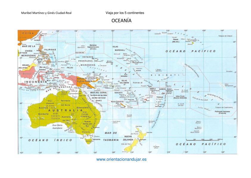 Imagen Paises Capitales Continentes