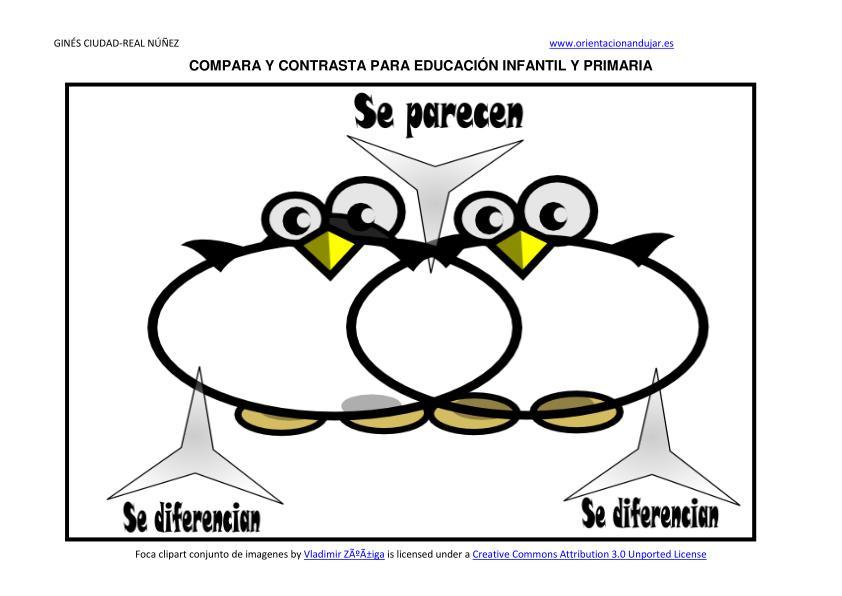 Compara contrasta con divertidos diagramas de venn en infantil o compara contrasta diagrama de venn en infantil de pinguino ccuart Images