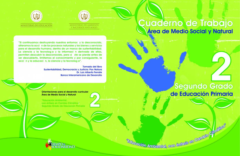 cuaderno conocimiento del medio area del medio social y natural ...