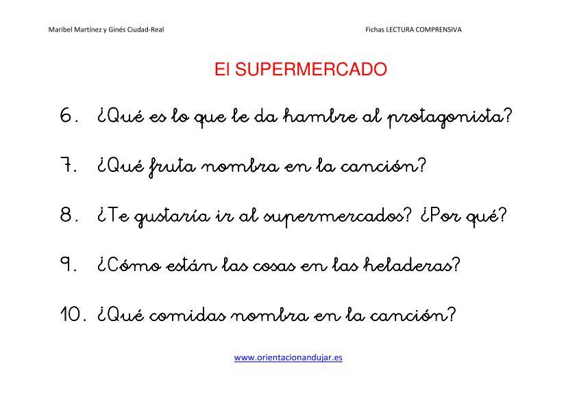 Video cuentos infantiles cortos para niños El Supermercado