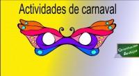 Desde Orientación Andújar hemos pensado para estas fechas preparar una serie de materiales relacionados con el carnaval y dados los tiempos que corren que mejor de trabajar con nuestros alumnos...