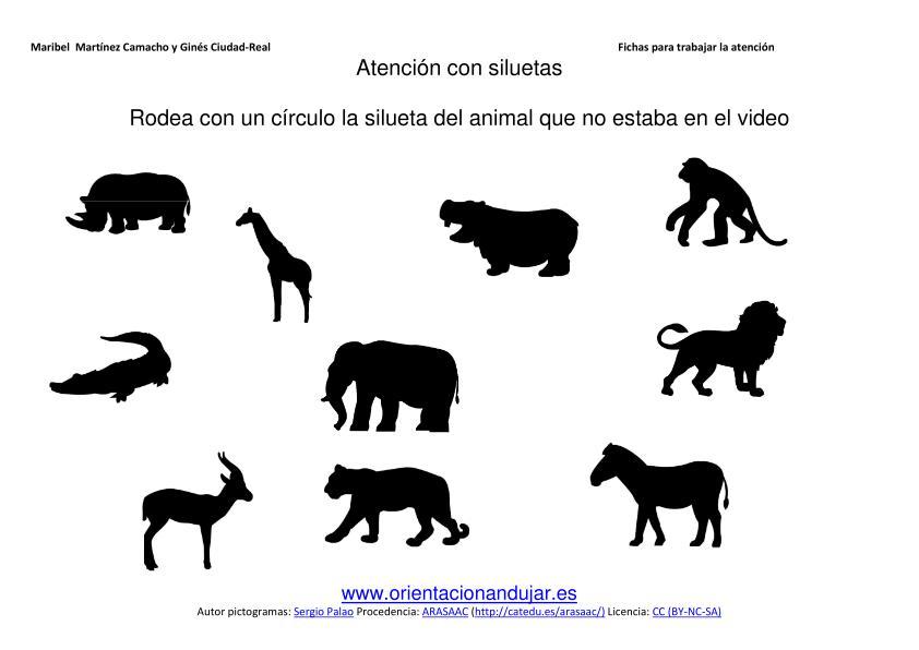 dibujos zorro silueta educacin inicial pic 5 www educacioninicial com