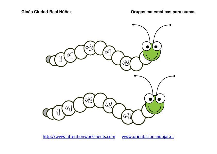 Imagenes Orugas Matematicas Para Sumas Nivel Inicial 03 Pdf