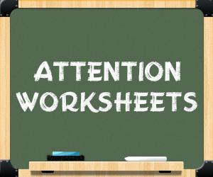 """attention worksheets banner"""