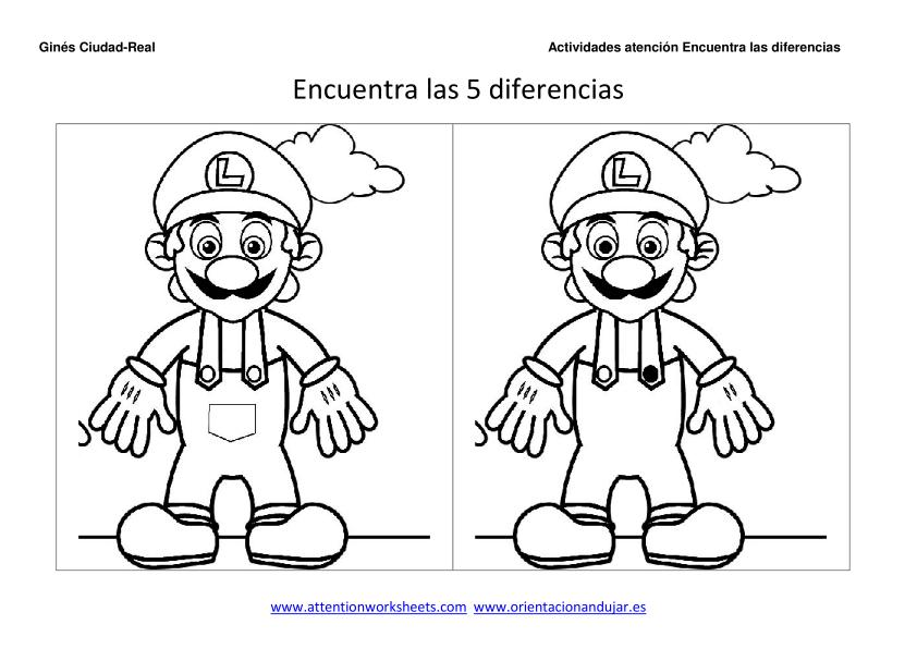 Spot The Difference Printable Spot The Difference Printable