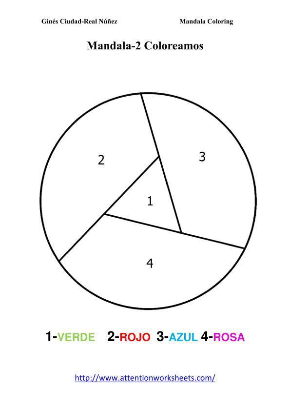mandalas para colorear en primaria y paara ni u00f1os
