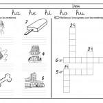 metodo de lectoescritura jose boo Letra H