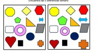 Encuentra las diferencias este es un ejercicio para potenciar la percepción visual y la atención en los niños. Actividades de estimulación de la inteligencia en niños en el que tendrán...
