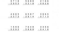 Dentro de los materiales para trabajar las operaciones arítméticas continuamos con las serie de restas en esta ocasión de numeros de tres cicfras sin llevada. Hemos añadido todas las fichas […]