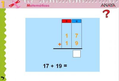 Resultado de imagen de juegos sumas con llevadas