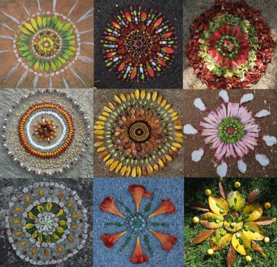 mandalas naturales-1 collage