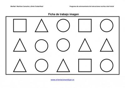 programa de entrenamiento de intrucciones escritas nivel medio orientacion andujar 2