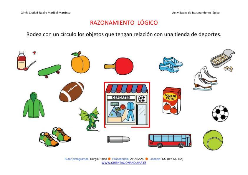 Razonamiento l gico categorizar y agrupar tienda de for Actividades para jardin infantil