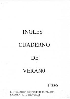 Cuaderno Verano 3ºESO IMAGEN