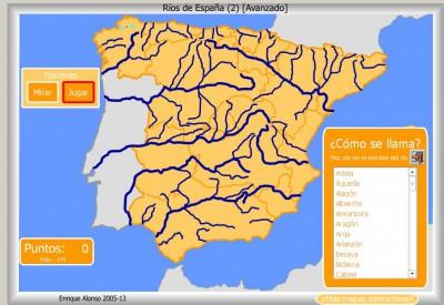 RIOS de España AVANZADO COMO SE LLAMA