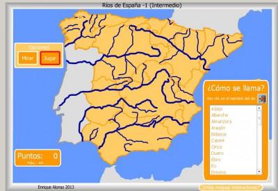 RIOS de España INTERMEDIO COMO SE LLAMA