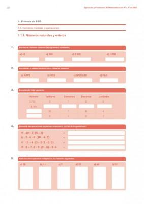 cuaderno de verano  matematicas 1 ESO imagen
