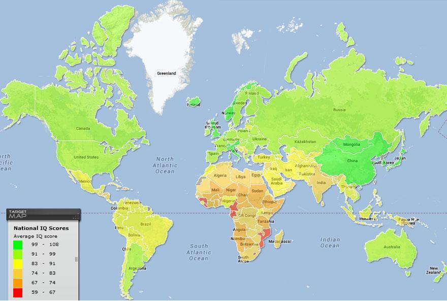Curiosos mapas que nunca nos ensearon en el colegio y que os
