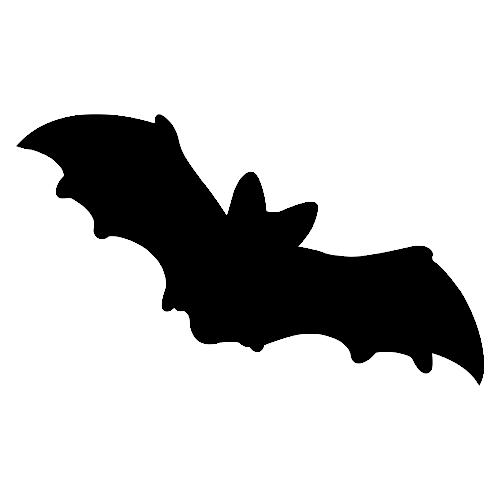 Murcielago silueta orientaci n and jar recursos educativos - Murcielagos halloween para imprimir ...