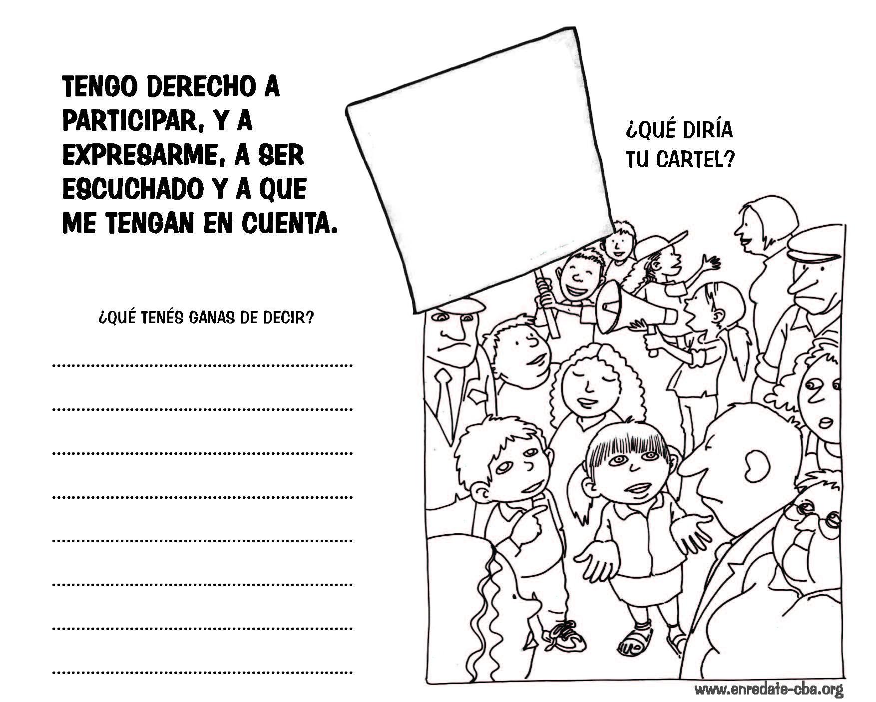 Cuaderno de Juegos y trabajo ¡Tenemos Derechos! Día de los derechos ...