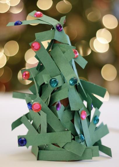 Arbol de navidad cartulina y cuentas o perlitas - Arbol navidad cartulina ...