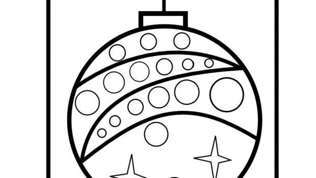 Bolitas de navidad para colorear imagui for Dibujo bola navidad