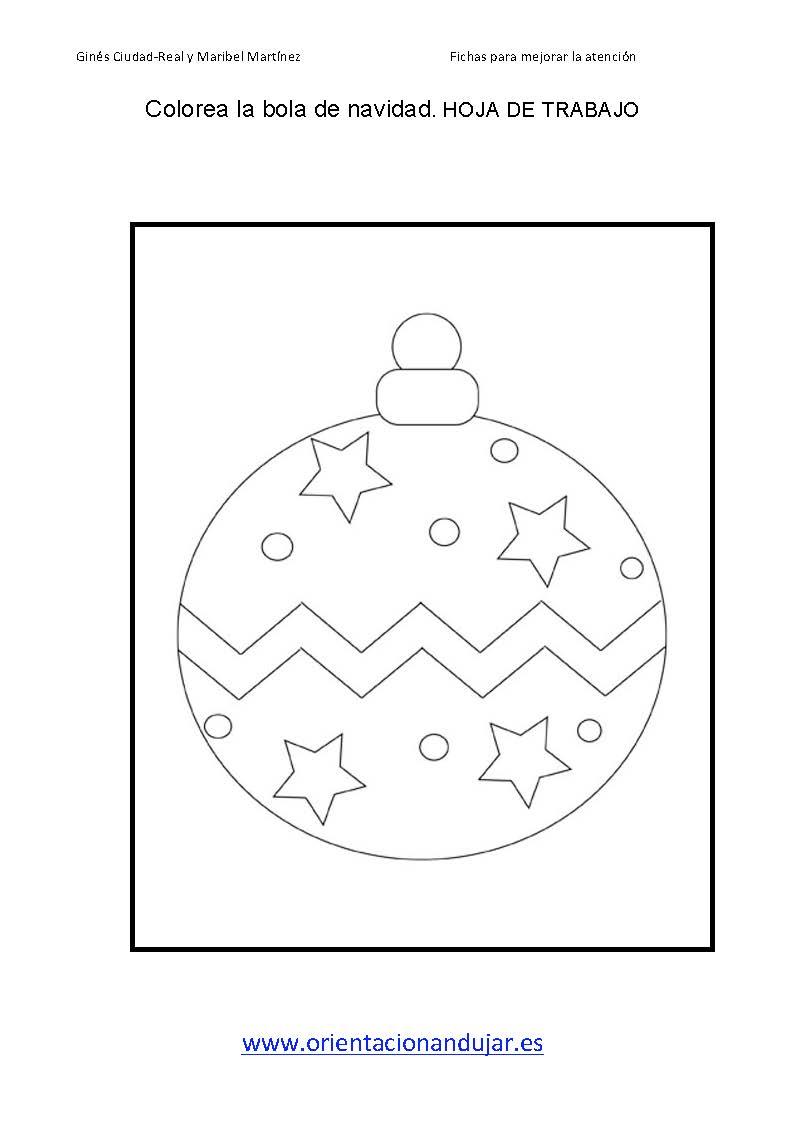 Colorear bolas de navidad dejamos ejemplos page 11 for Actividades de navidad para colorear