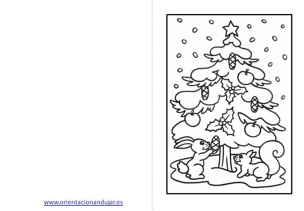 Christmas de Navidad para colorear (1) - Orientación Andújar ...