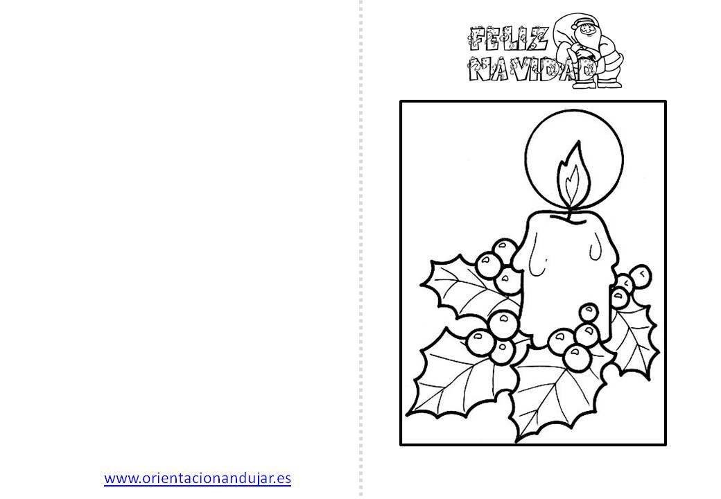 Christmas de Navidad para colorear (3) - Orientación Andújar ...