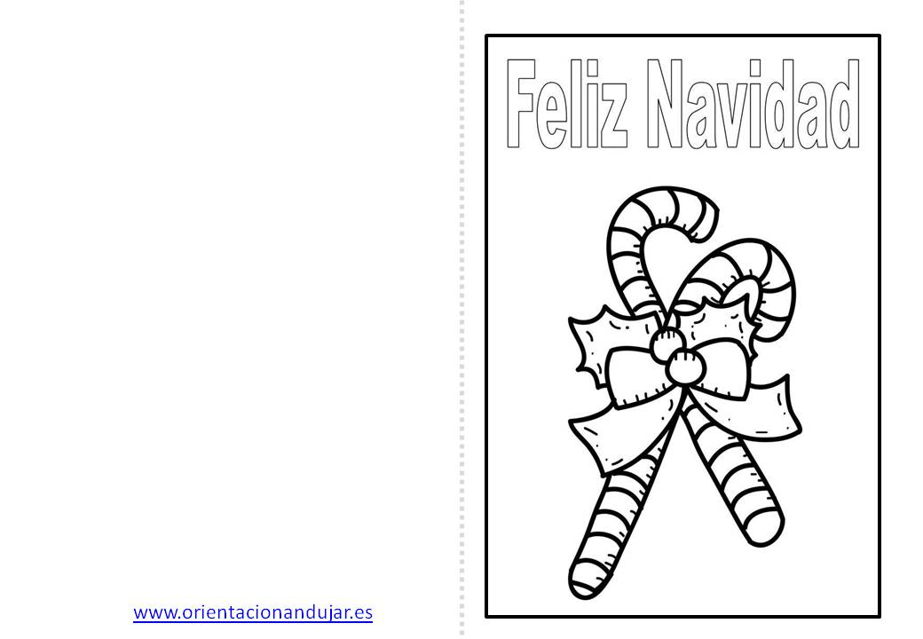 Christmas de navidad para colorear 4 orientaci n and jar recursos educativos - Dibujos de navidad originales ...