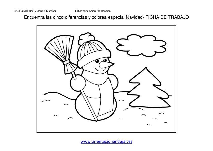 ENCUENTRA LAS DIFERENCIAS ESPECIAL NAVIDAD 2013 FICHA 2 imagen 2 ...