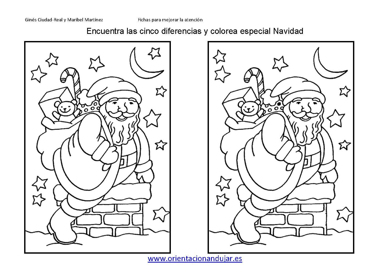 Perfecto Hojas De Actividades De Navidad Para Niños Patrón - Dibujos ...