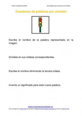 Ejercicios para niños con dislexia Omisión de sílabas imagenes_07