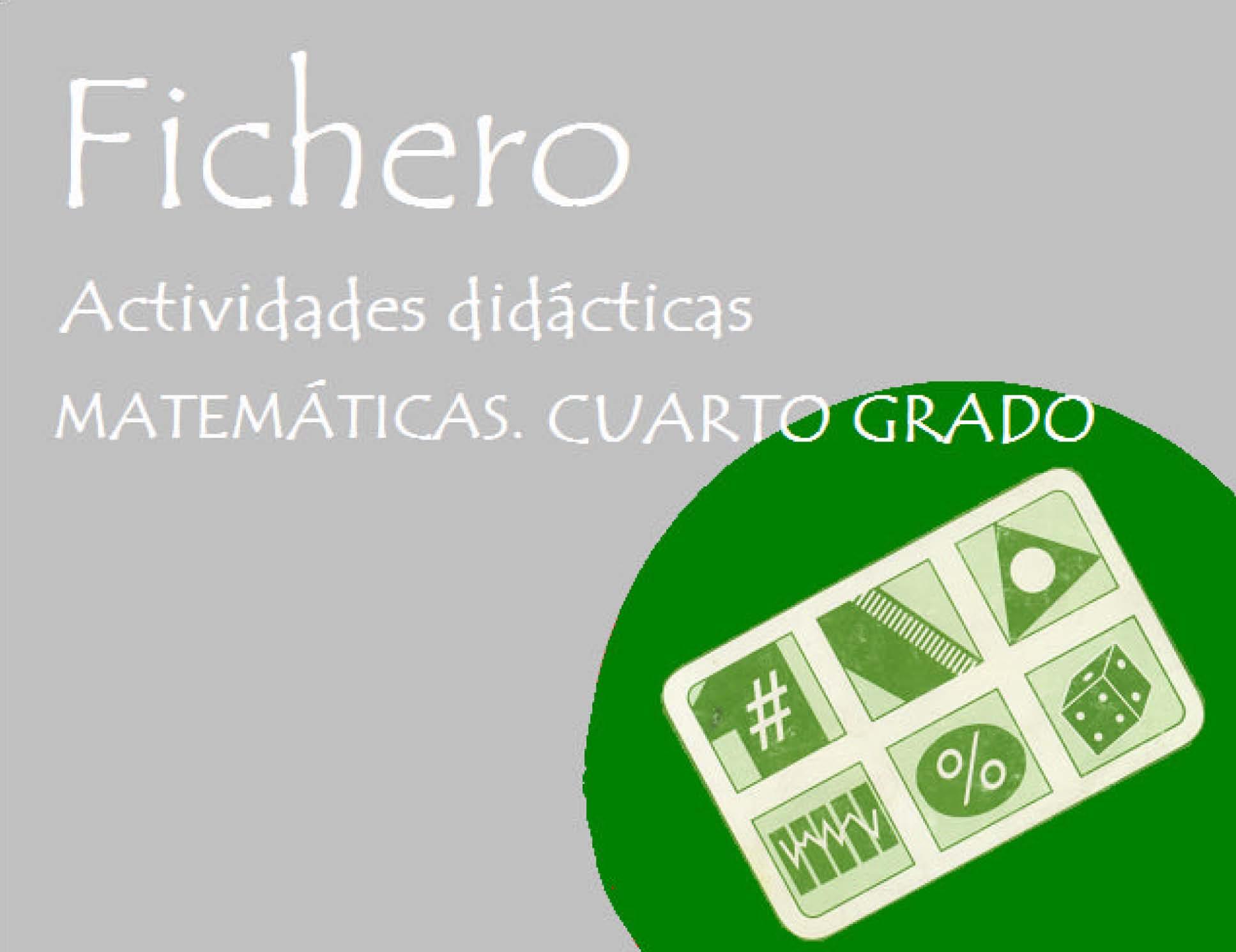 Coleccion de Actividades didácticas matemáticas cuarto primaria o ...