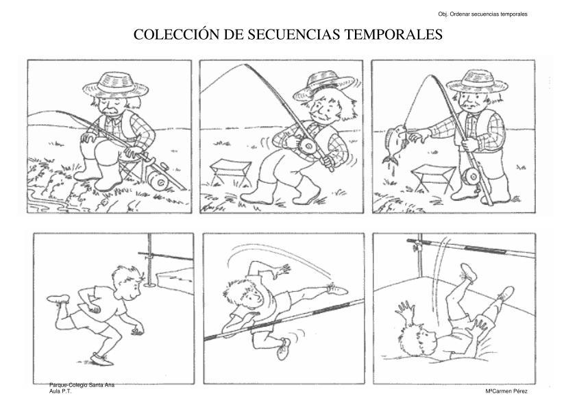Colección de secuencias temporales con imágenes -Orientacion Andujar