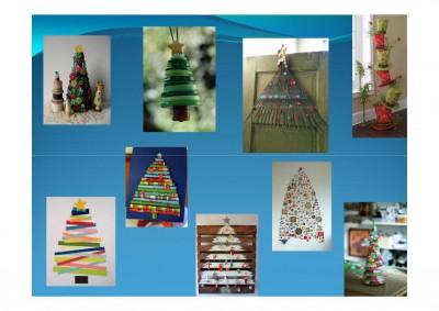 Propuestas de rboles de navidad buenos bonitos y baratos - Arboles de navidad de diferentes materiales ...