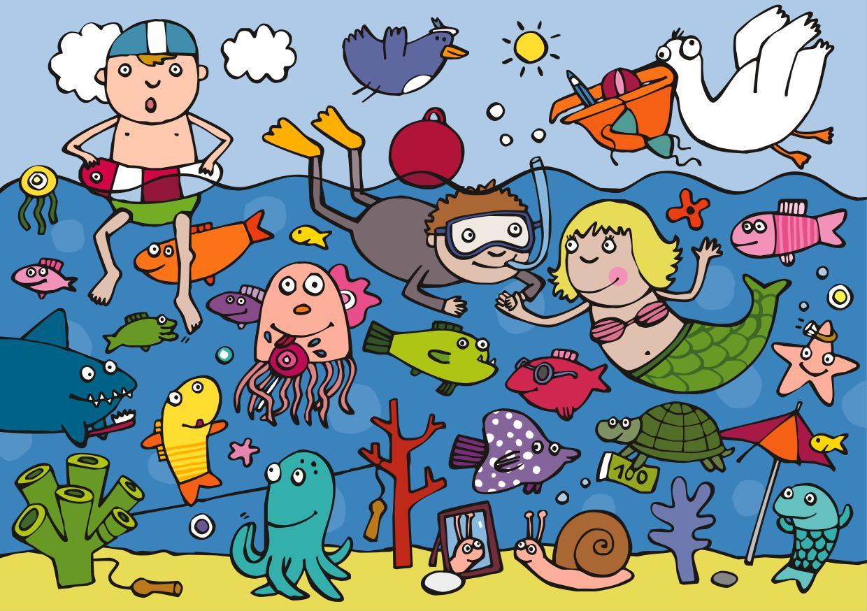 El La Playa Para Niños Orientación Andújar Recursos Educativos
