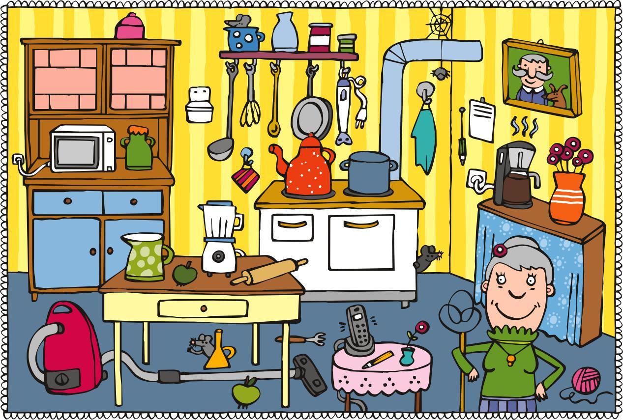 En la cocina orientaci n and jar recursos educativos - Dibujos de cocina ...