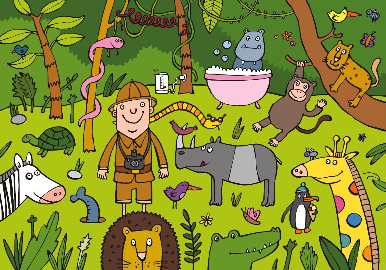 En la selva orientaci n and jar recursos educativos - Laminas para la pared ...