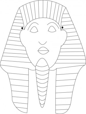 Coleccion de caretas para carnaval ii imprimibles para for King tut mask template
