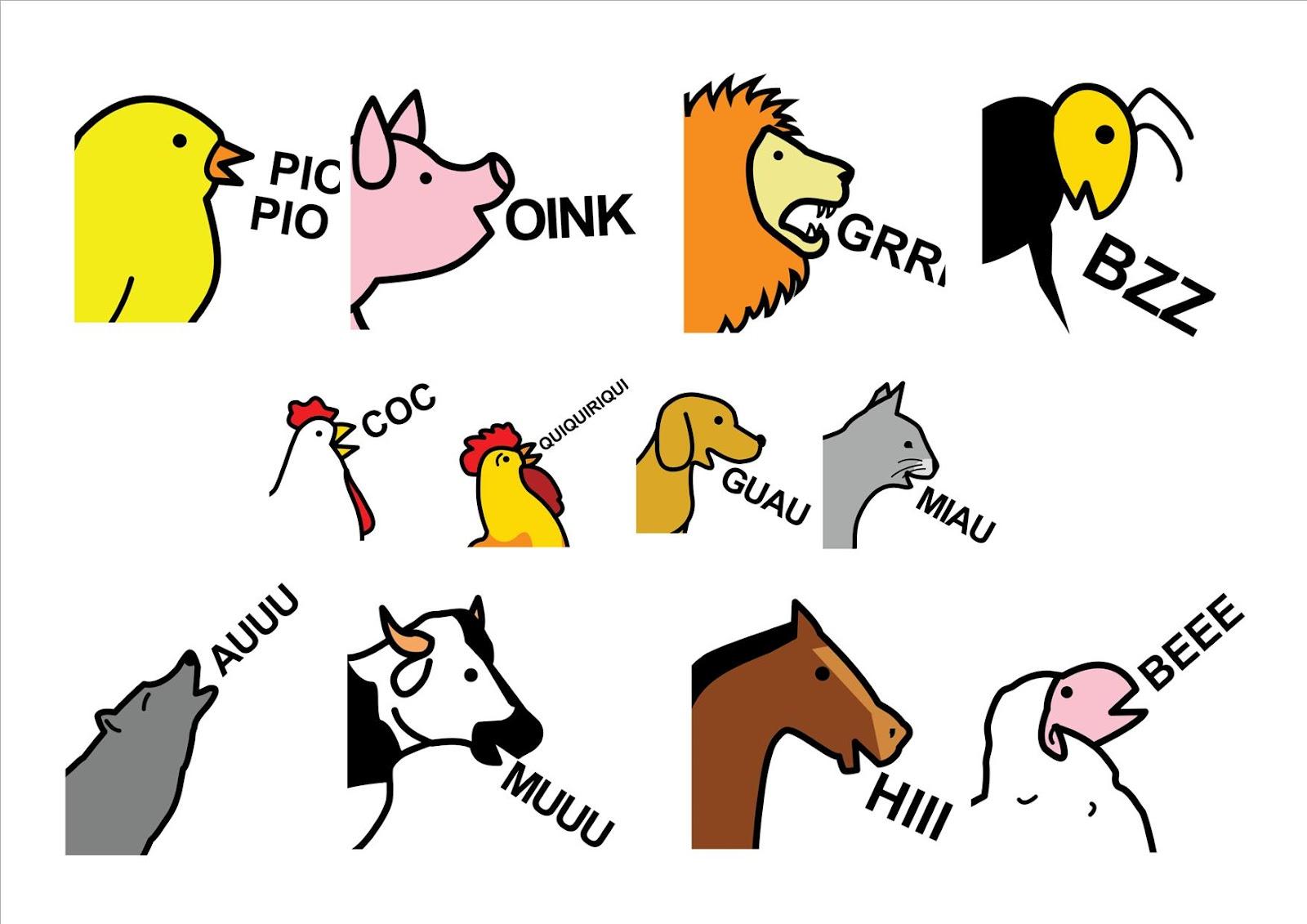 Adivinamos los sonidos de los animales domésticos y de