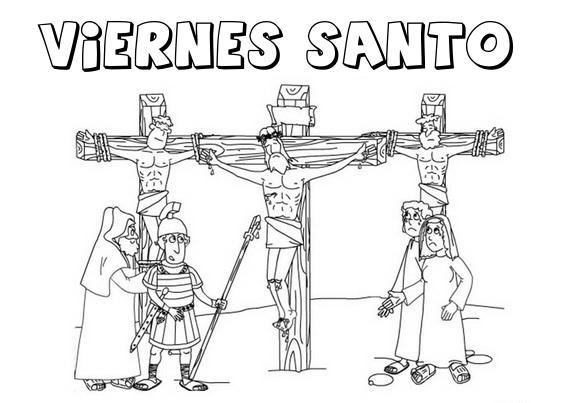 Semana Santa Sevilla Colorear: Sabado Santo Para Colorear