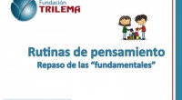 Otros fantásticos materiales que queremos compartir con todos vosotros, realizado por la Fundacion Trilema: TRILEMA, un fabuloso equipo de profesionales especializado en formación, innovación y gestión del cambio en el […]